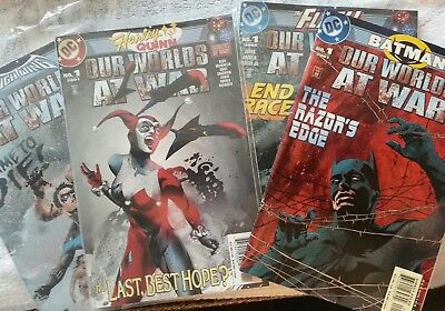 DC comics (6) Comic Book Lot featuring Our Worlds At War Annuals from 2001