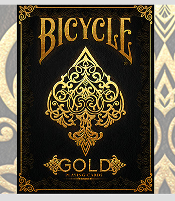 Bicycle Gold Deck by US Playing Cards Deck by Murphy's Magic and USPCC
