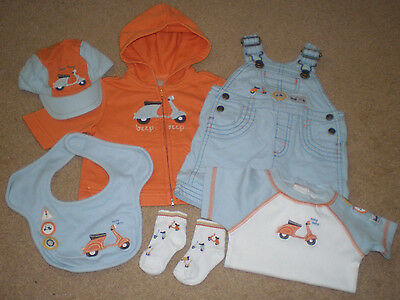 Baby Scooter Clothing by Gymboree Bundle 0-3M Vespa Mod Lambretta