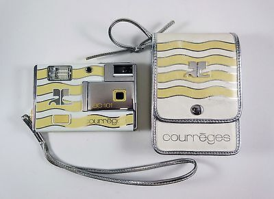 Vintage Minolta AC101 Courreges Disc Camera - André Courrèges French Designer