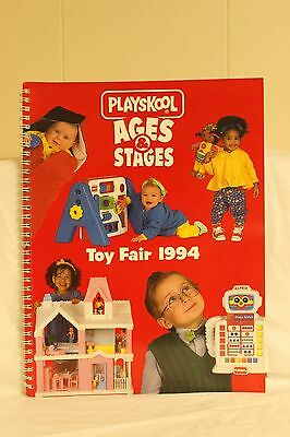 "Playskool ""ages & Stages"" Toy Fair 1994 All Color Catalog"