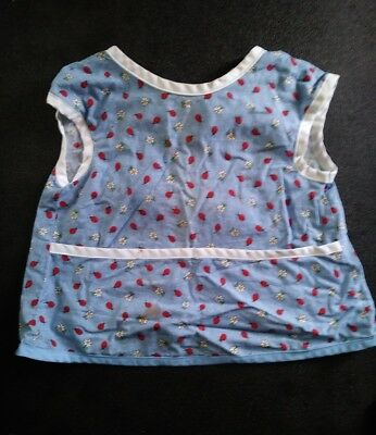 Toddler Paint Smock 2T-4T Ladybugs