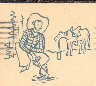 "UX27; ""Stetson Time""; 1930; Cowboy Illustrated; Shoes & Riding Equipment Sale"