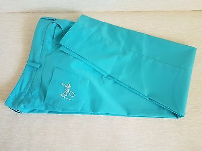 Fayde New Women's Size 8 Vibrant Blue Golf Trousers Pants