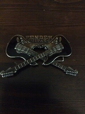 FENDER guitars belt buckle