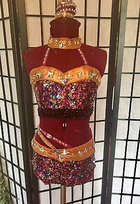 Custom Competition Jazz Dance Costume