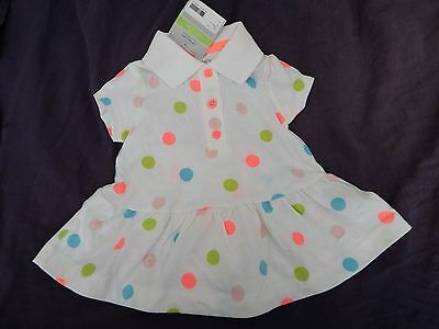 NEW Carters Baby Girl Polka Dot Romper Set~ 3 month size Dress