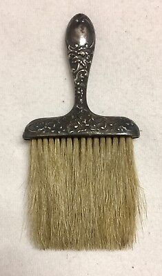 Antique Victorian Mauser Sterling Silver Clothes Brush