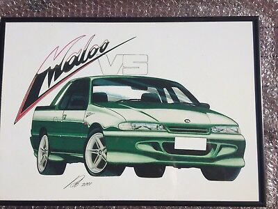 HSV Maloo Limited Edition Framed Print