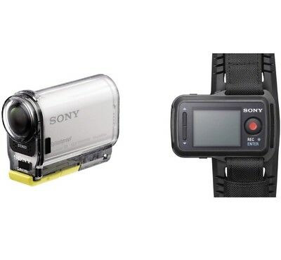 Sony HDR AS100V Waterproof Camcorder With Live Watch