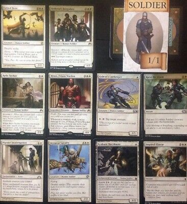 Instant SOLDIER DECK! Ready To Play 60 Cards Mtg WHITE