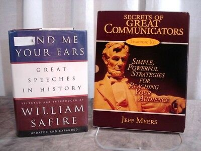 SECRETS OF GREAT COMMUNICATORS Learning Kit COMPLETE Myers & Lend Me Your Ears