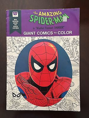 "Vintage 1976 Marvel Comics- The Amazing Spider-Man ""Weather Forecast: Danger"""