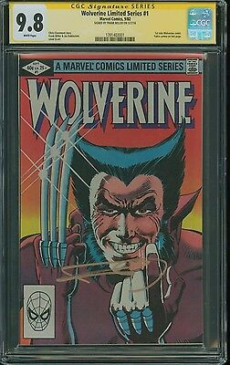 Wolverine Limited Series #1 (1982) Cgc 9.8 Ss Signature Series Frank Miller