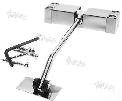 Automatic Adjustable Spring Loaded Door Closer Surface Mounted for 20-40KG Door