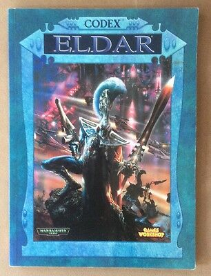 Warhammer 40K 3rd Edition Codex Eldar OOP Games Workshop (1999, paperback)