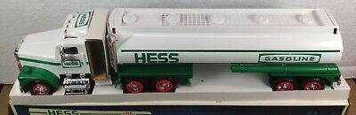 1990 Hess Toy Tanker Truck Dual Sound Switch Working Lights