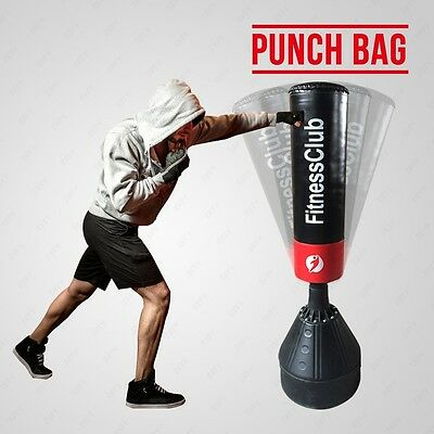 5Ft Heavy Duty Free Standing Boxing Punch Bag Kick MMA Martial Art Training