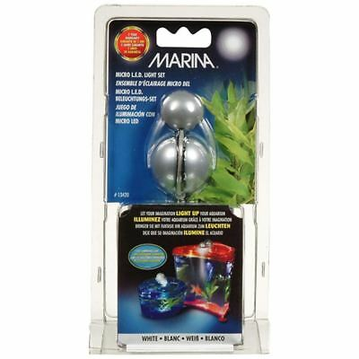 Marina LED Light Set White Nano Aquarium Fish Tank Light