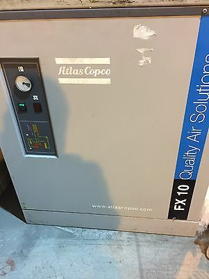 ATLAS COPCO FX10 COMPRESSED AIR DRYER ideal for powder coating and shotblasting