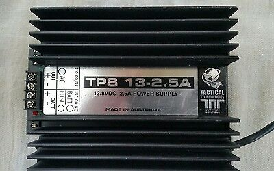 13.8 Volt 2.5Amp TACTICAL TECHNOLOGIES POWER SUPPLY