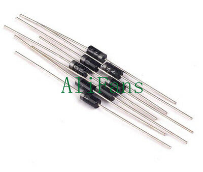 200 PCS 1N4004 IN4004 DO-41 1A 400V Rectifie Diodes NEW
