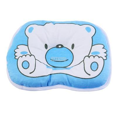 Newborn Infant Baby Bear Pattern Pillow Support Cushion Pad Prevent Flat B5UT
