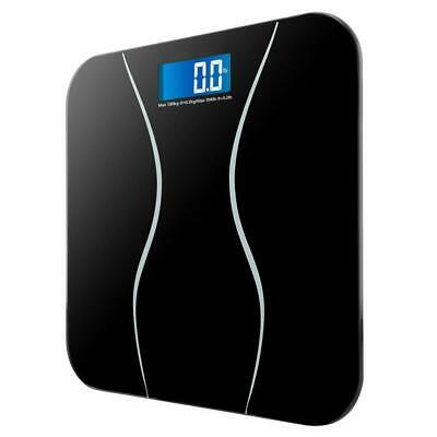 Digital Electronic LCD Personal Glass Bathroom Body Weight Weighing Scales 396LB