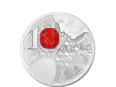10 Euro 250 Jahre Baccarat French Excellency Frankreich Silber PP 2014