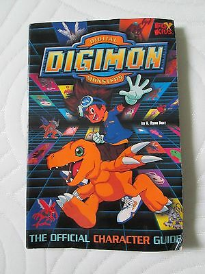 DIGIMON The Official Character Guide BOOK digital monsters fox kids trading card