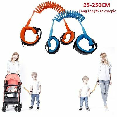 Kid Safety Anti lost Band Link Harness Toddler Child Baby Wrist Strap Belt Reins