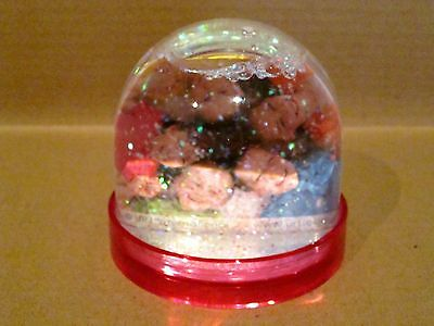 Double Sided Picture Snowglobe PINK