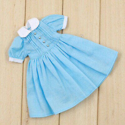 1/6 Cute Dress Outfit Clothes for 12inch Takara Blythe Dolls Clothing Blue