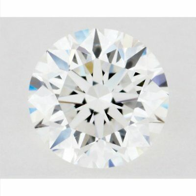 9.60 mm Genuine H-I White 2.85 ct VVS1 Loose Moissanite Round Cut GBP