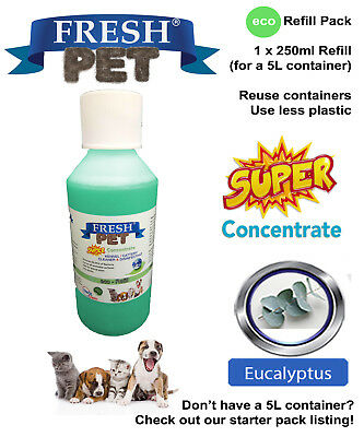 FRESH PET eco-Refill 5L - Kennel Disinfectant | Cleaner | EUCALYPTUS
