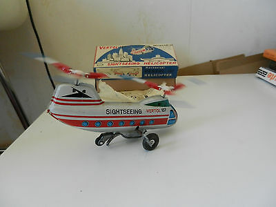 Vertol 107 Sightseeing Helicopter Made in Japan