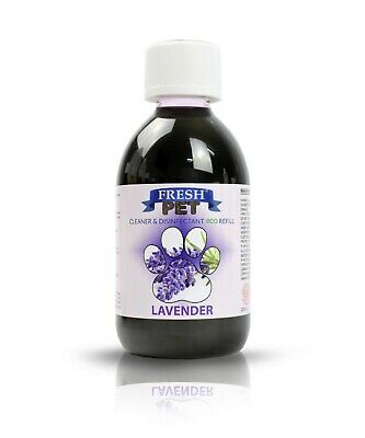 FRESH PET eco-Refill 5L - Kennel Disinfectant | Cleaner | LAVENDER