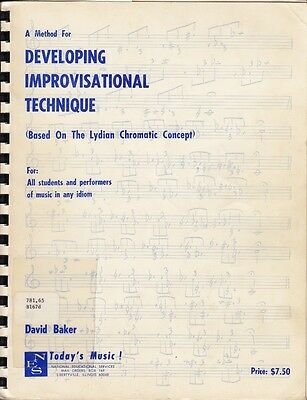 Method for Developing Improvisational Technique Based on Lydian Chromatic Concep