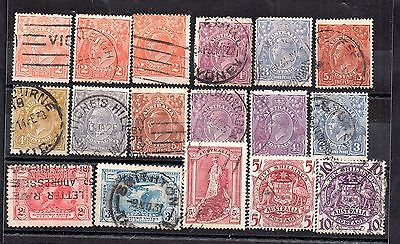 Australia used collection KGV - KGVI WS5534