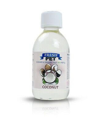FRESH PET eco-Refill 250ml that make 5L Kennel Disinfectant | Cleaner | COCONUT