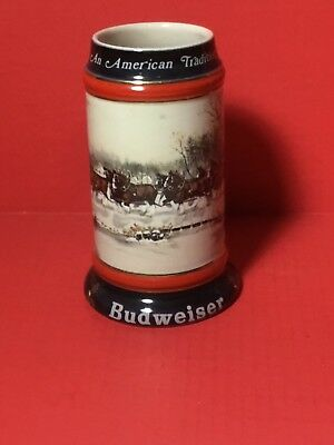 1990 Budweiser Holiday Stein