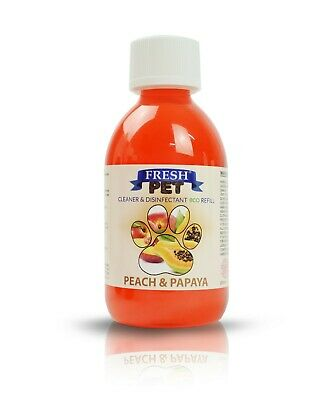 FRESH PET eco-Refill 5L - Kennel Disinfectant | Cleaner | PEACH & PAPAYA