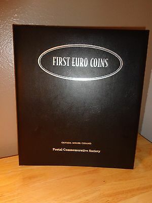Postal Commemorative Society First Euro Coins- 12 Countries - FREE S/H