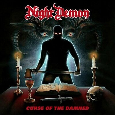 Night Demon - Curse Of The Damned  Cd New+
