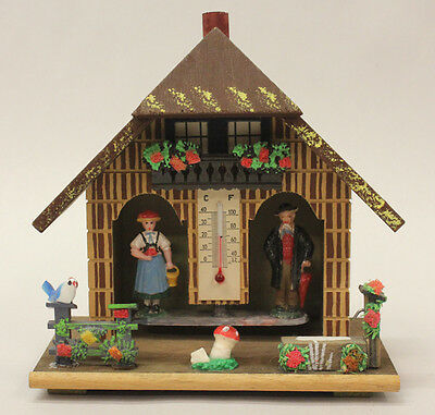 German Chalet Thermometer