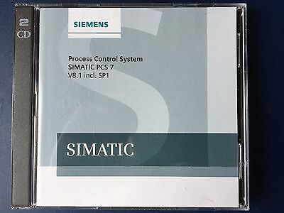 SIEMENS SIMATIC PCS 7 V8.1 SP1 Software DVD