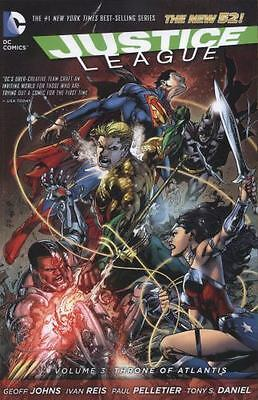 Justice League Vol. 3: Throne of Atlantis The New 52 Jla Justice League of A