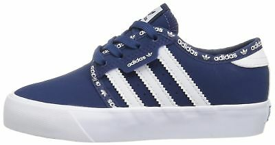 Adidas BB8498: Originals Boys' Seeley J Mystery Blue/White Sneakers