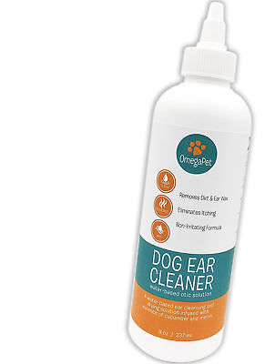 Dog Ear Cleaner Itching Odour Gunk Gentle Natural For Drops Best Yeast Mites NEW