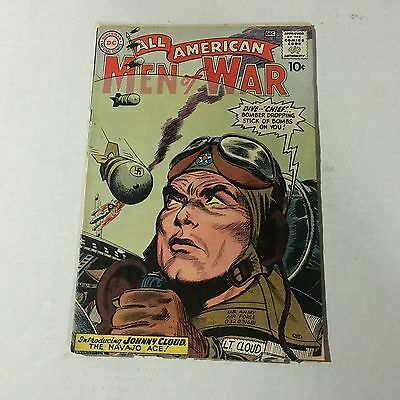 ALL AMERICAN MEN OF WAR #82 DC 1st JOHNNY CLOUD Appearance Key Issue #A1